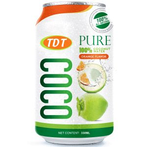 330ml pure Coconut water with Orange