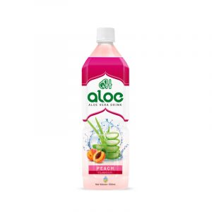 Aloe vera 500ml pet_Peach