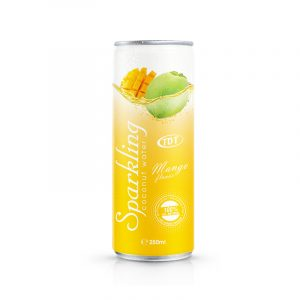 250ml TDT Sparkling coconut with Mango