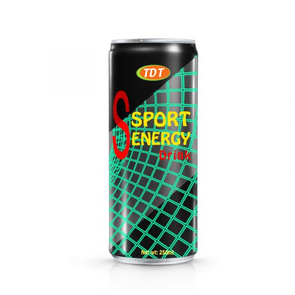 250ml TDT sport energy drink