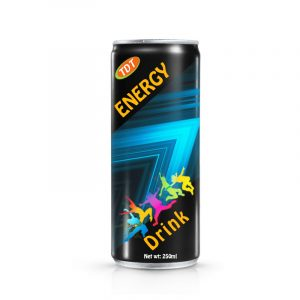 250ml tdt energy drink in can