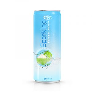 330ml TDT Sparkling-Coconut-water
