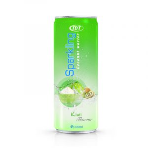 330ml TDT sparkling Coconut water with kiwi