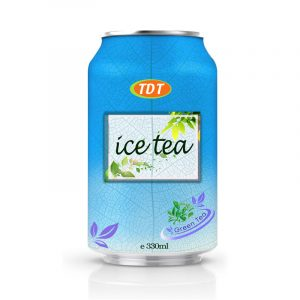 330ml TDT Green Ice Tea Drink