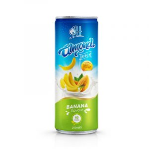 250ml TDT Almon Juice with banana