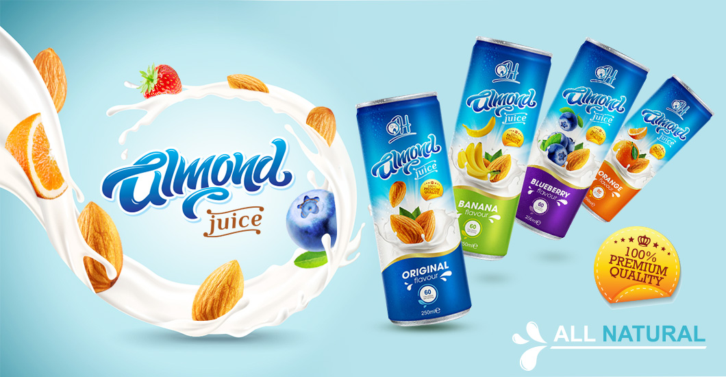 TDT BANNER ALMOND 250ML