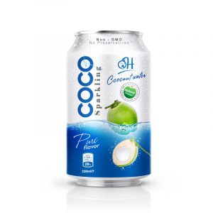 TDT Sparkling Coconut water 330ml_ Pure