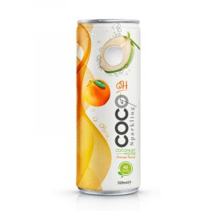 Sparkling coconut 320ml_Orange