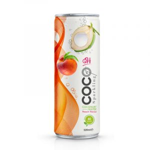 TDT Sparkling coconut 320ml_Peach