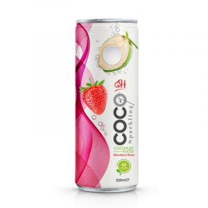 TDT Sparkling coconut 320ml_Strawberry