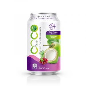 330ml Oh Coconut water with red grape