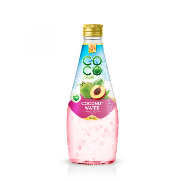 290ml OH Coconut Water with Peach