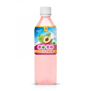 500ml OH Coconut water with peach