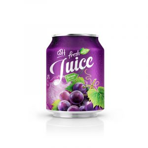 250ml OH Grape juice in can