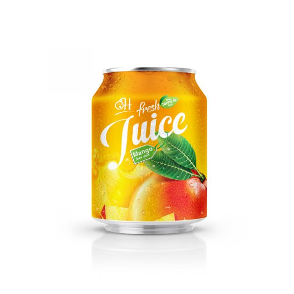 250ml OH Mango juice in can