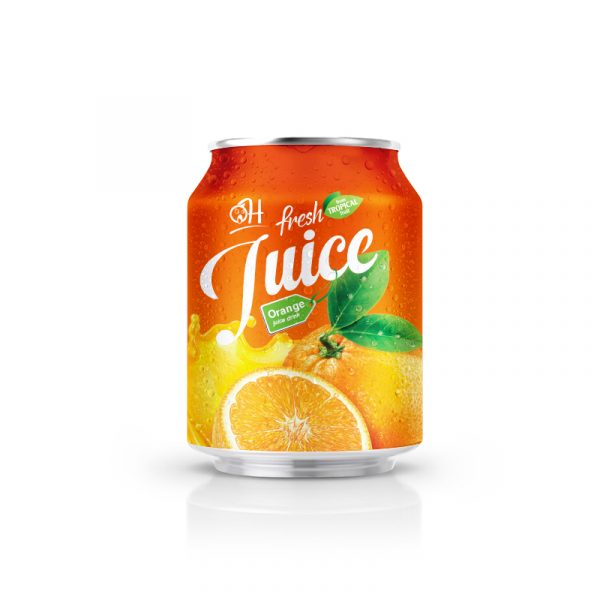 250ml OH Orange juice in can