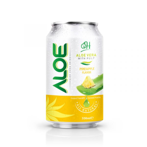 330ml OH Aloe vera drink with Pineapple