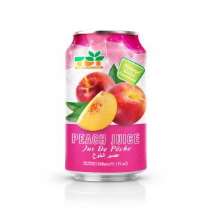 330ml TDT Peach Juice in can