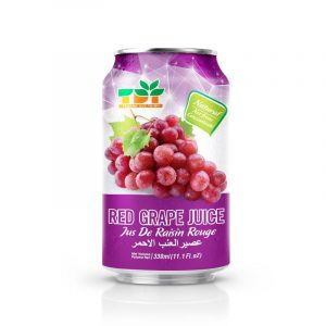330ml TDT Red Grape Juice in can