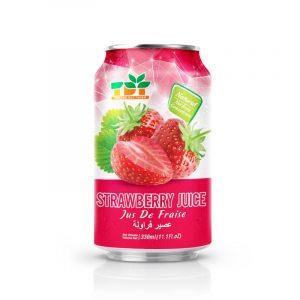 330ml TDT Strawberry Juice in can