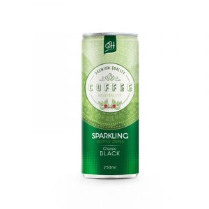 black sparkling coffee drink 250ml premium quality