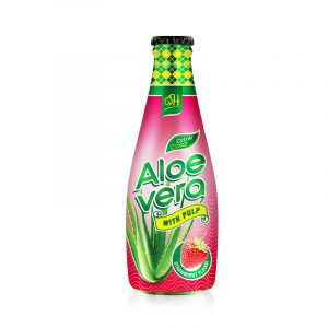290ml Aloe vera drink with Strawberry