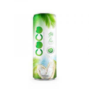 320ml OH Coconut water with pulp Original flavor