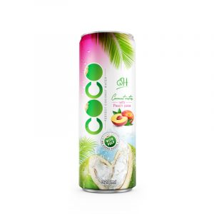 320ml OH Coconut water with pulp Peach flavor