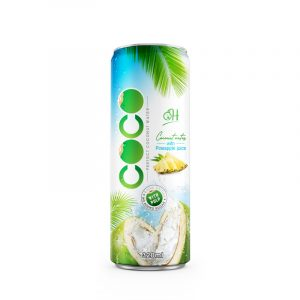 320ml OH Coconut water with pulp Pineapple flavor