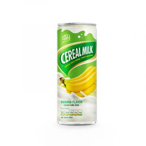250ml Cereal Milk Drink high Calcium Banana Flavor