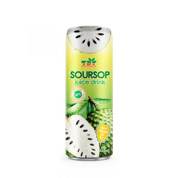 320ml TDT Soursop Juice Drink rich vitamin C