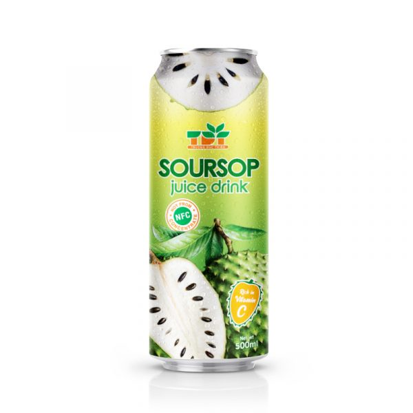500ml TDT Soursop Juice Drink rich vitamin C