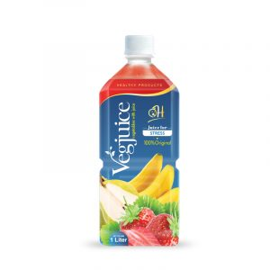 1L Pet bottle Vegetable juice - Juice for Stress