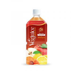 1L Pet bottle Vegetable juice - Juice for hangover