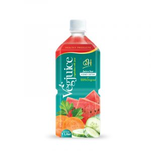 1L Pet bottle Vegetable juice - Juice for kindly detox
