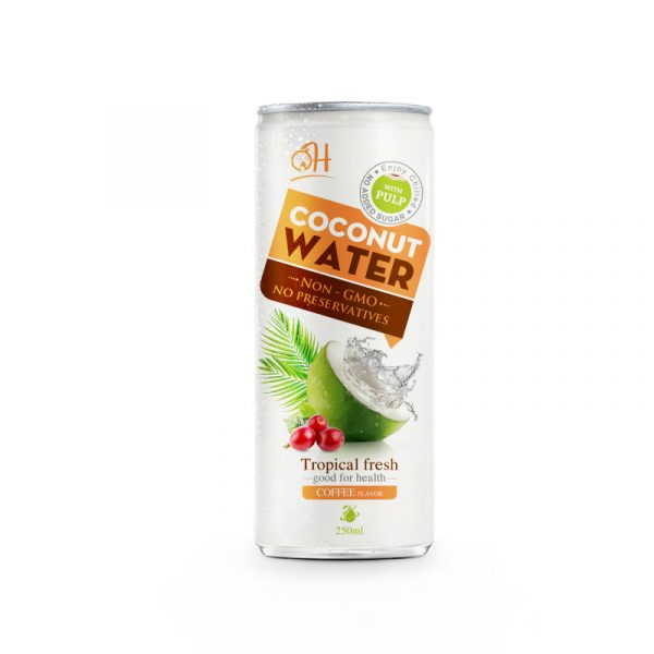 250ml OH Coconut water with Coffee