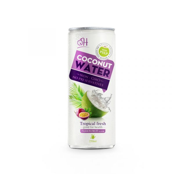 250ml OH Coconut water with passion fruit