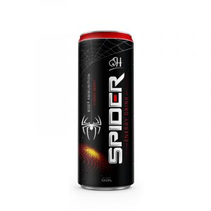 320ml OH Energy drink Spider with cherry berry