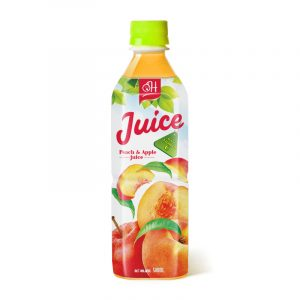 500ml OH Peach & apple juice Rich Vitamin C