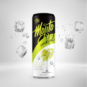 320ml Kiwi Mojito Cocktail in can