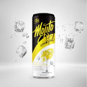 320ml Orange Mojito Cocktail in can