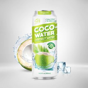 500ml OH Coconut water with pulp Original