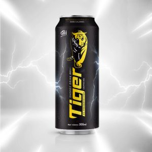 500ml Tiger Energy drink Zero Calories