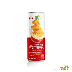 250ml OH Apple with Carrot Juice rich vitamin A and C