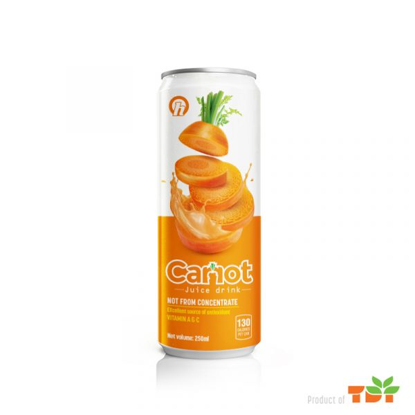 250ml OH Carrot Juice rich vitamin A and C