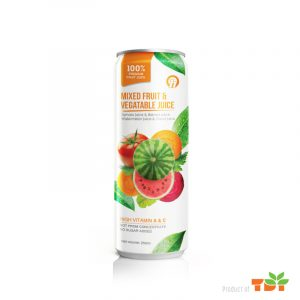 250ml OH Mixed Juice with Vegetable in can