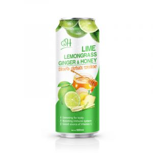 500ml OH Lime lemongrass with ginger and honey