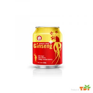 OH Ginseng Energy Drink 250ml in can