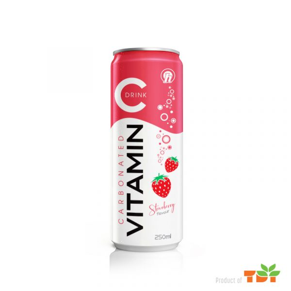 250ml OH Vitamin C Soft Drink with Strawberry favour