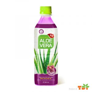 500ml OH Aloe vera Drink with Grape flavour